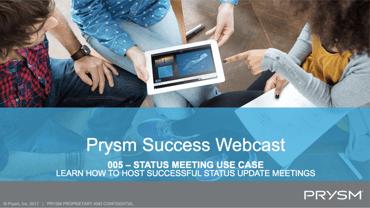 status meeting use case