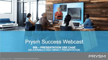 Presentations Use Case