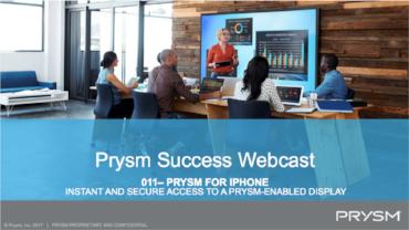 Prysm For Iphone