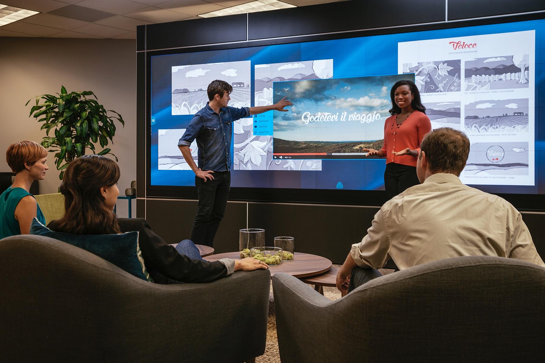 visual collaboration meeting software