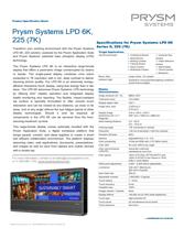 Prysm-LPD-6K-225-6K-Spec-Sheet