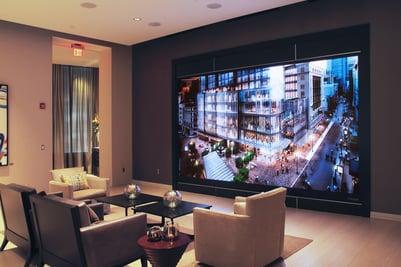Millennium Tower Boston, Sales Center