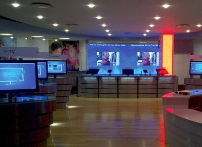 Time Warner Cable, Retail Store