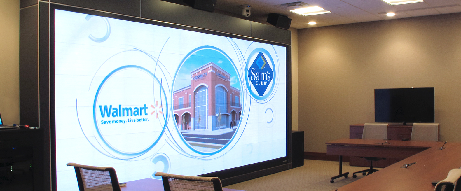 Prysm Video Wall at CROSSMARK Center for Collaboration