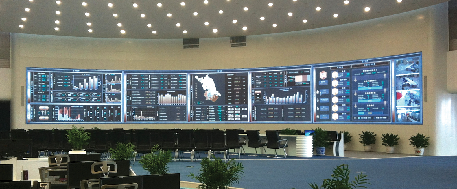 Prysm Video Wall at State Grid Corporation of China